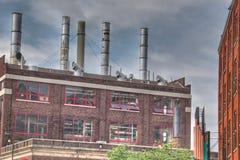 Costruzioni a Grand Rapids immagini stock libere da diritti