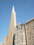 Costruzioni: grattacieli Immagini Stock Libere da Diritti
