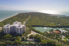 Costruzioni a Key Biscayne Florida Immagini Stock Libere da Diritti