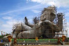 Costruzioni la più grande statua di Ganesha Fotografia Stock Libera da Diritti