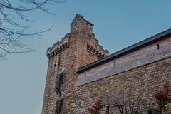 Costruzioni maestose del castello di decano in Sc orientale di Kilmarnock dell'ayrshire immagine stock