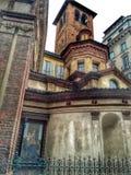 Costruzioni medievali a Milano Immagini Stock Libere da Diritti