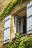 Costruzioni medievali in Sarlat-La-Caneda; La Dordogna; La Francia Fotografie Stock