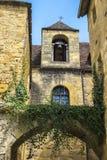 Costruzioni medievali in Sarlat-La-Caneda; La Dordogna; La Francia Fotografia Stock