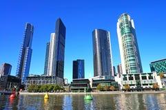 Costruzioni a Melbourne Fotografia Stock Libera da Diritti