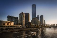 Costruzioni a Melbourne Immagine Stock Libera da Diritti
