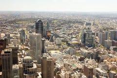Costruzioni a Melbourne immagini stock