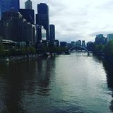 Costruzioni a Melbourne Fotografie Stock