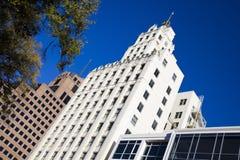 Costruzioni a Memphis - vecchia e nuova Fotografie Stock