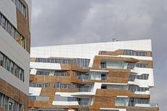 Costruzioni moderne Immagine Stock