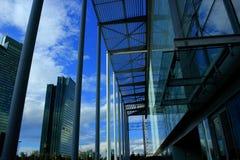 Costruzioni moderne Immagini Stock Libere da Diritti
