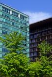 Costruzioni moderne Fotografie Stock
