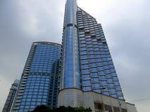 Costruzioni moderne alte a Shanghai Fotografia Stock