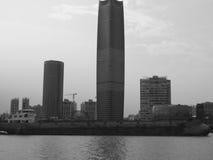 Costruzioni moderne alte a Shanghai Fotografie Stock Libere da Diritti