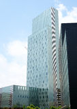 Costruzioni moderne a Barcellona Fotografie Stock Libere da Diritti