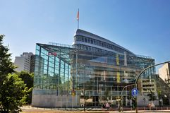 Costruzioni moderne a Berlino Immagini Stock