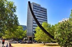 Costruzioni moderne a Berlino Fotografia Stock