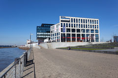 Costruzioni moderne a Brema, Germania Immagini Stock Libere da Diritti