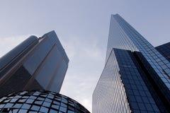 Costruzioni moderne in Città del Messico immagini stock