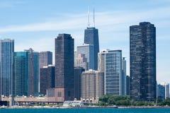 Costruzioni moderne del Chicago immagini stock libere da diritti
