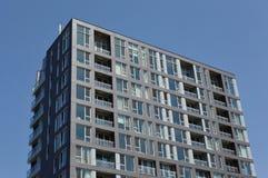 Costruzioni moderne del condominio a Montreal del centro Immagine Stock Libera da Diritti