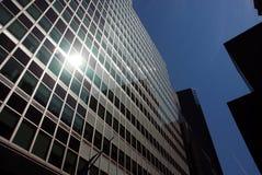 Costruzioni moderne del grattacielo Fotografia Stock Libera da Diritti