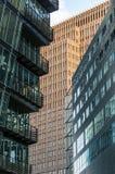 Costruzioni moderne della città Immagine Stock