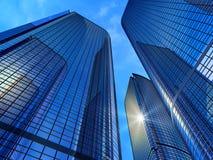 Costruzioni moderne di affari Immagine Stock Libera da Diritti