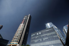 Costruzioni moderne di affari Fotografia Stock