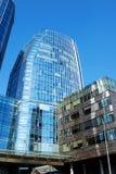 Costruzioni moderne di affari corporativi di architettura Fotografia Stock Libera da Diritti