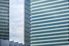 Costruzioni moderne di architettura Fotografie Stock