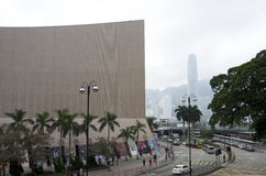 Costruzioni moderne di Kowloon Hong Kong Fotografie Stock