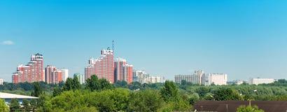 Costruzioni moderne di Mosca Immagine Stock