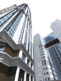 Costruzioni moderne di palazzo multipiano Fotografie Stock