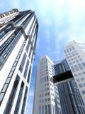 Costruzioni moderne di palazzo multipiano Immagine Stock