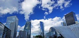Costruzioni moderne di Parigi Fotografia Stock Libera da Diritti