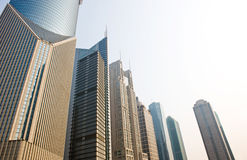 Costruzioni moderne di Schang-Hai Immagini Stock Libere da Diritti