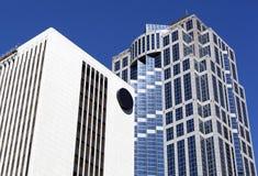 Costruzioni moderne di Seattle Fotografia Stock Libera da Diritti