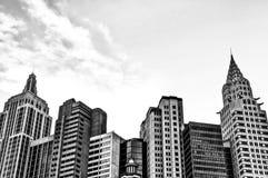 Costruzioni moderne di stile Fotografia Stock