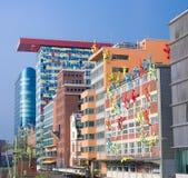 Costruzioni moderne esteriori Fotografia Stock