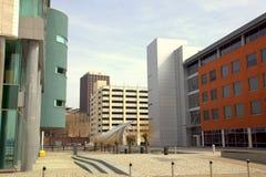 Costruzioni moderne a Liverpool Immagini Stock