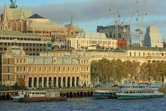 Costruzioni moderne, Londra Immagini Stock