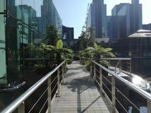 Costruzioni moderne Londra Immagini Stock Libere da Diritti