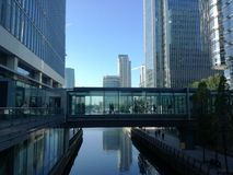 Costruzioni moderne Londra Immagine Stock Libera da Diritti