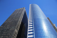 Costruzioni moderne in Lower Manhattan Fotografia Stock