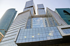 Costruzioni moderne a Mosca Fotografia Stock