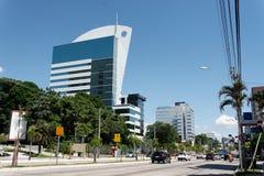 Costruzioni moderne a Porto Alegre Immagine Stock Libera da Diritti