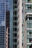 Costruzioni moderne a San Francisco del centro Fotografia Stock Libera da Diritti