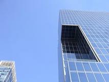 Costruzioni moderne a Santiago, Cile immagine stock