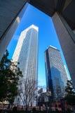 Costruzioni moderne a Tokyo, Giappone Fotografia Stock